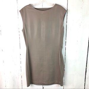 BCBGMaxAzria | Faux Leather Dress
